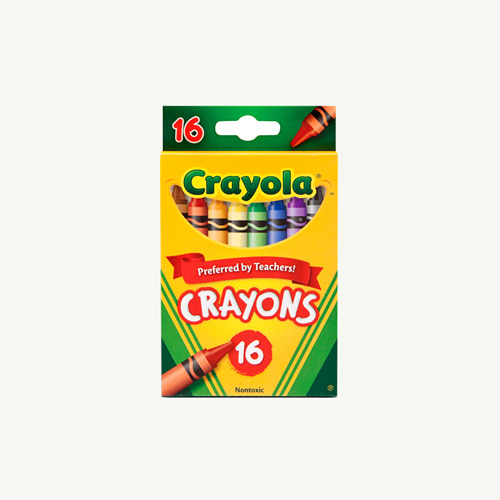 Non Toxic Crayons 16 Colors