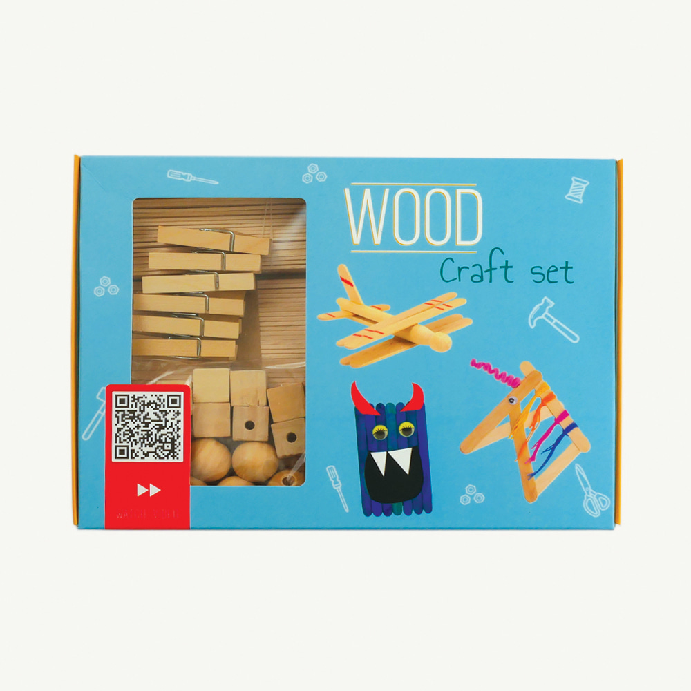 [From Germany] Wood Craft set