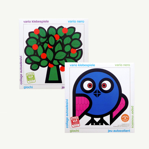 Sticker Collage Set (2 Sticker books)