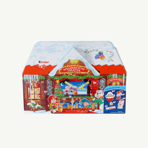 2019 Kinder 3D House Advent Calendar