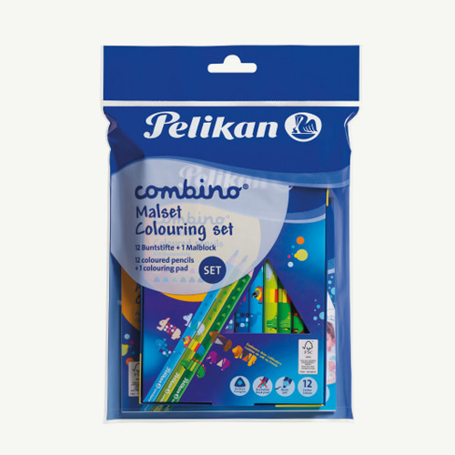 [From Germany] Coloring Set (Color Pencil + Coloring Pad)