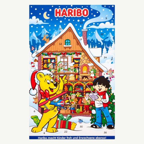 [From Germany] Haribo Advent Calendar