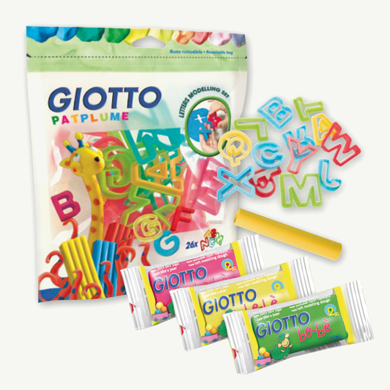 Giotto Alphabet Tool Set & Clay (24개입)