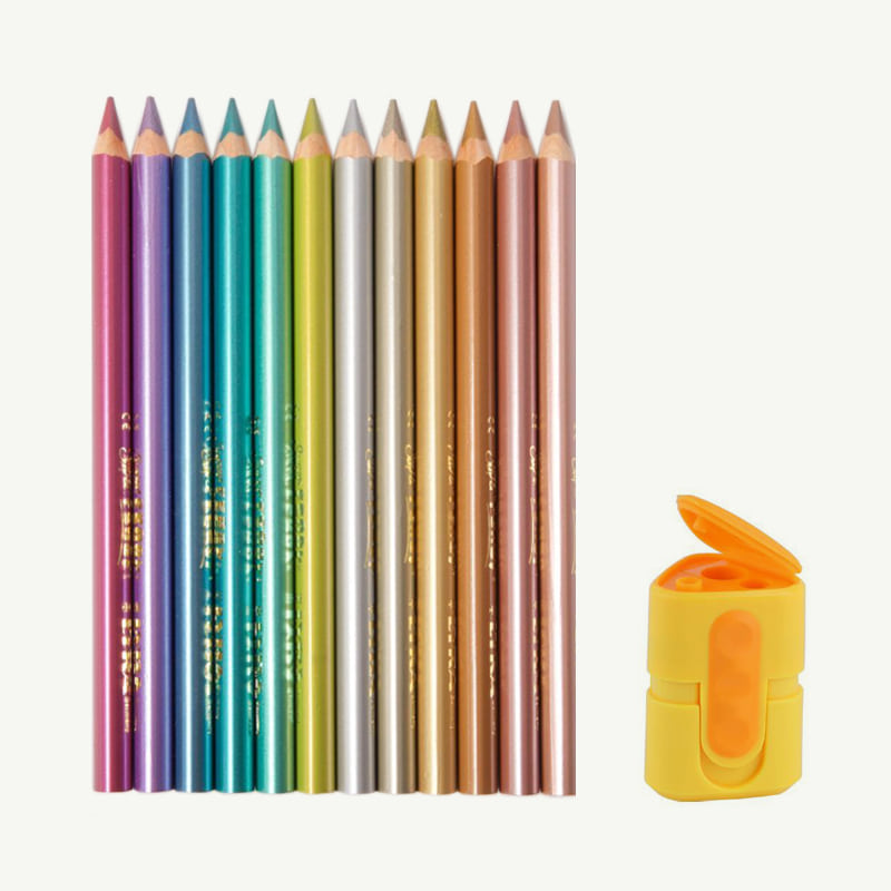 Super Ferby Metal Color Pencil Set